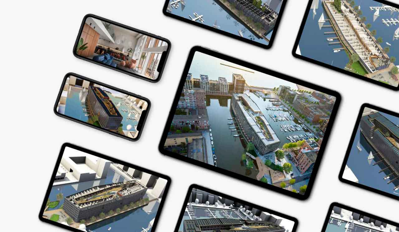 Augmented reality of the city